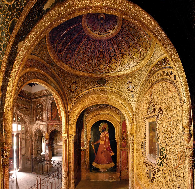 QILA MUBARAK, PATIALA: A recently restored room in the Qila Androon inside Qila Mubarak