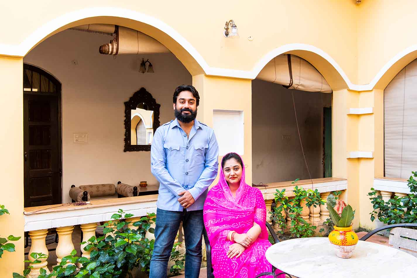 The Singh family are perfect hosts and make your stay memorable