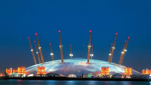 The Millennium Dome in Greenwich, England
