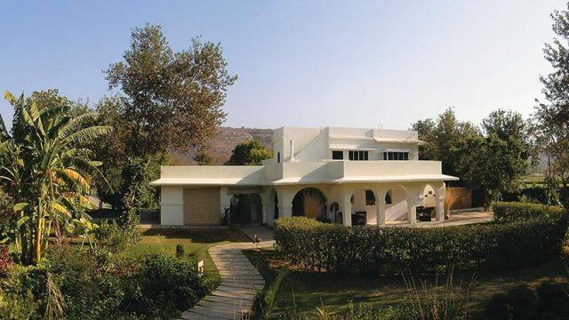 The main building: Khem Villas
